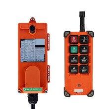 Original telecrane industrial sem fio controle remoto elétrico talha 1 transmissor + 1 receptor F21 E1B