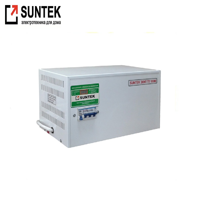 Voltage stabilizer thyristor SUNTEK Elite TT 10000 VA AC Stabilizer Power stab Stabilizer with thyristor amplifier цена и фото
