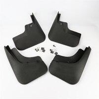1 Set Black Fender Mud Flaps Splash Guard Mudguards For VW Tiguan 2013