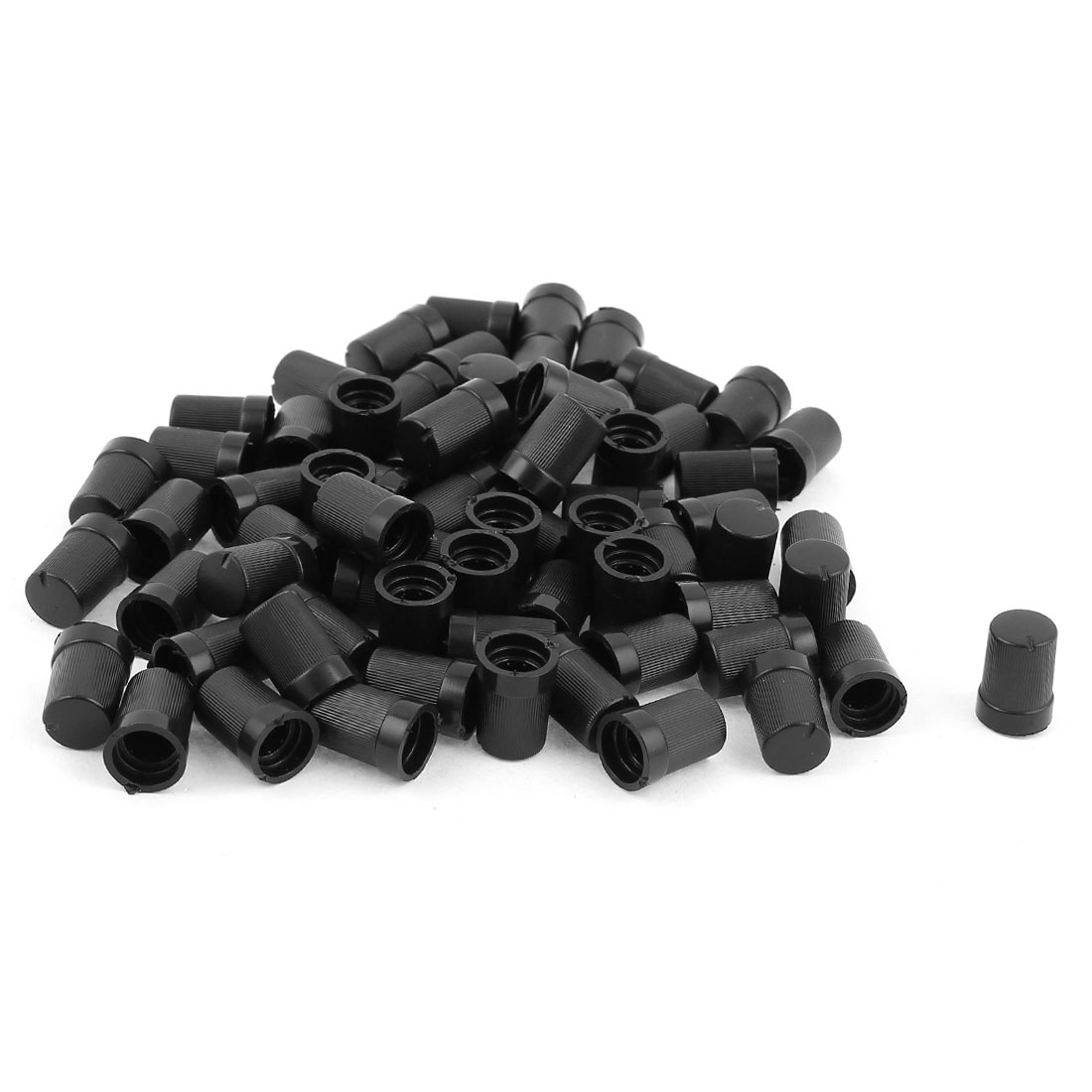6 mm Big Push Sur Bouton pour potentiomètre Bouchon en Plastique Différentes Couleurs 15 mm