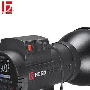 Image 3 - 甚平 AC DC 電源アダプタと互換性 HD 610 & HD 601 写真撮影の照明フラッシュ