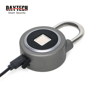 Image 4 - DAYTECH Fingerabdruck schloss Bluetooth Smart Elektrische Tür Sperre Locker Akku Anti Theft Sicherheit für Haus (L01)
