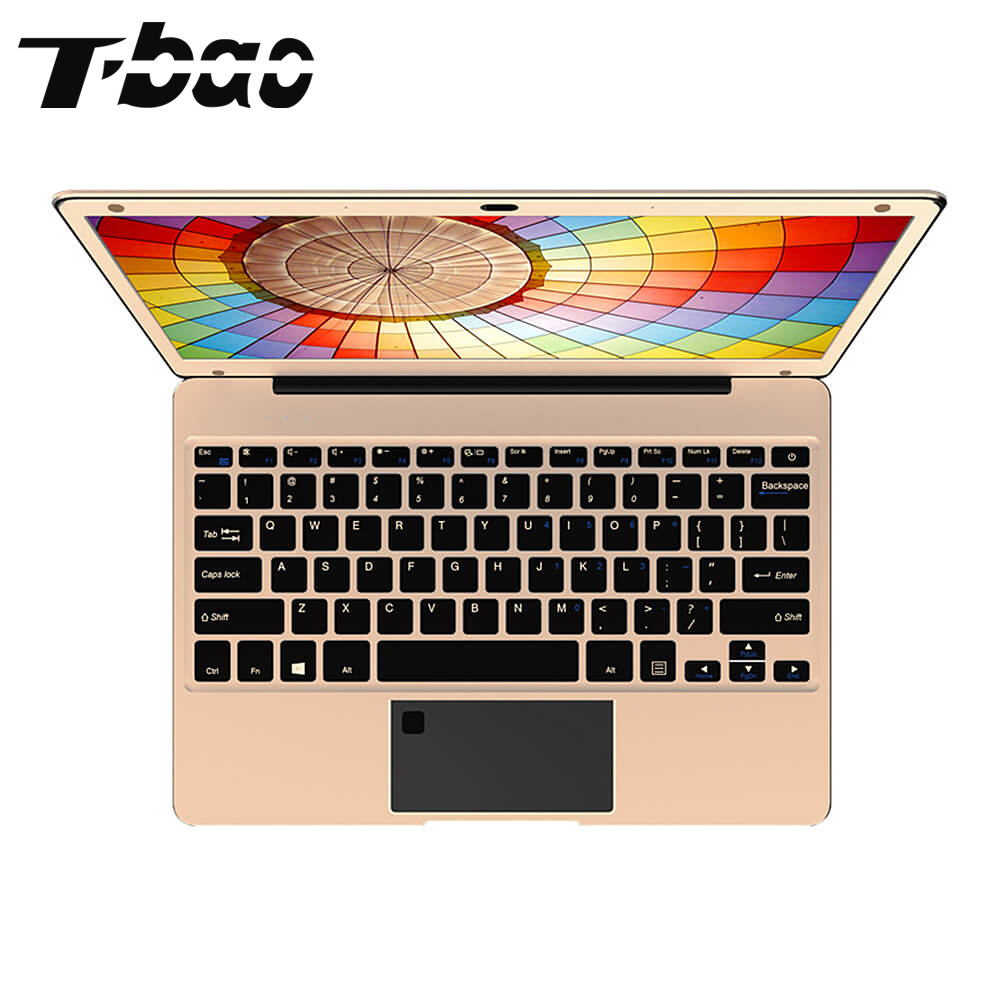 T-bao Tbook Air Laptops 1080P FHD Screen 12.5 inch 4GB DDR4 RAM 128GB SSD  Intel Apollo Lake N3450  Computer Laptops Notebook le 40tl1600 motherboard t ms18vg 81b 11467 with screen tx4a24 fhd