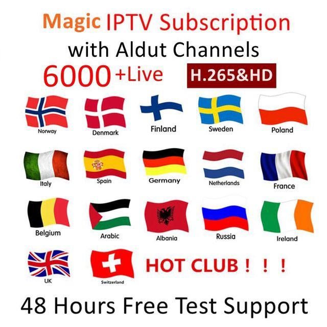 IPTV M3u Subscription Iptv Italy UK German French Spanish Arabic Premium For Android TV Box GTmedia G1 G3 V9 Super V8 NOVA IPTV