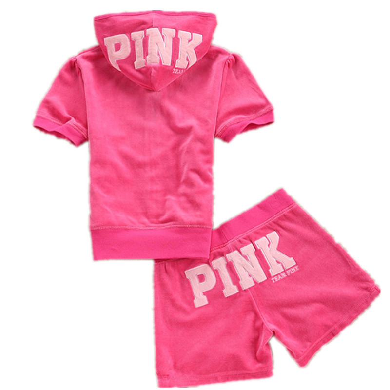 Summer Casual Female Sportsuit Women Hoodies Tops and Short Pants Tracksuit S XL for Sweet Girls