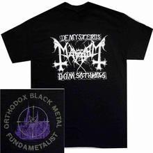 44541832 Cool Graphic T Shirts Novelty Short O-Neck Mens Mayhem Orthodox Metal  Tees(China