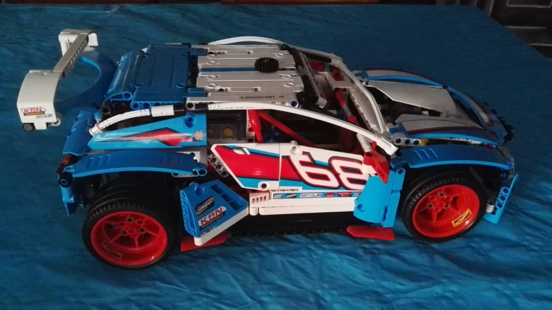 LEPIN 20077 The Rally Car Block Set (1085Pcs) photo review