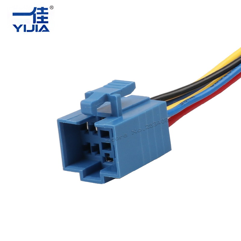 Wiring Socket Plug connector line for 25mm 30mm metal push button ...