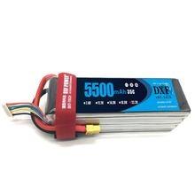 Dxf rc литий полимерный lipo аккумулятор 222 v 5500mah 35c 6s