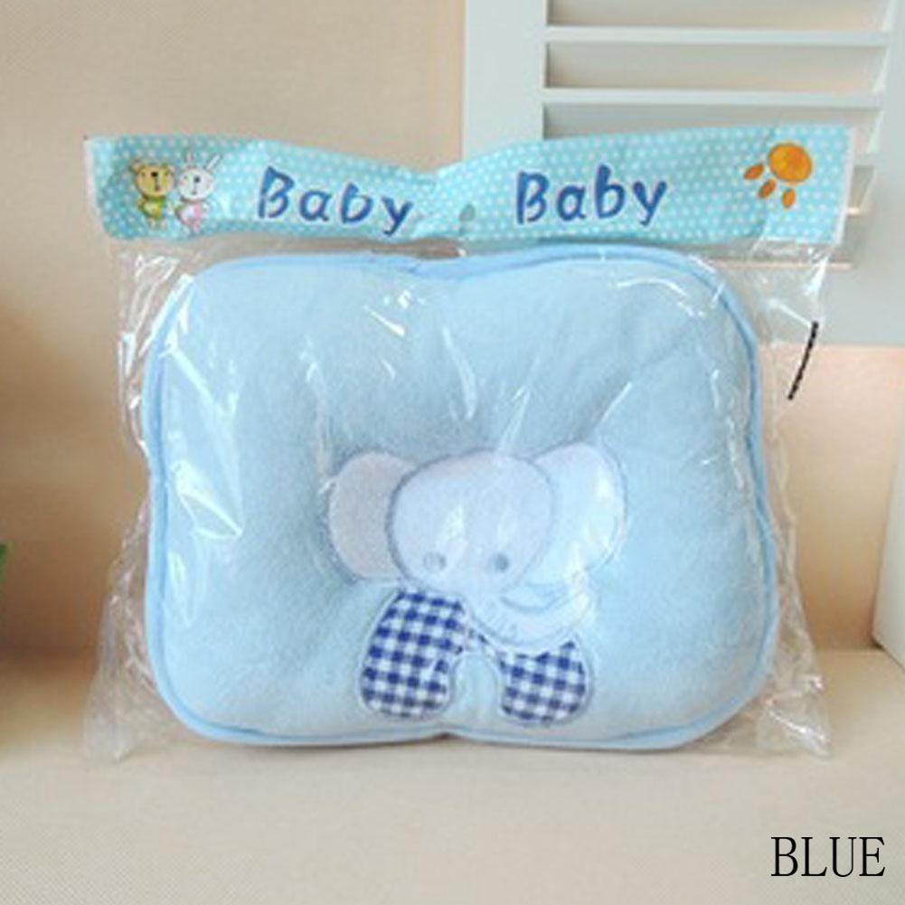Hot Sale Cute Elephant Baby Infant Pillow Prevent Skew Head Toddler Bedding Newborn Soft Neck Pillow