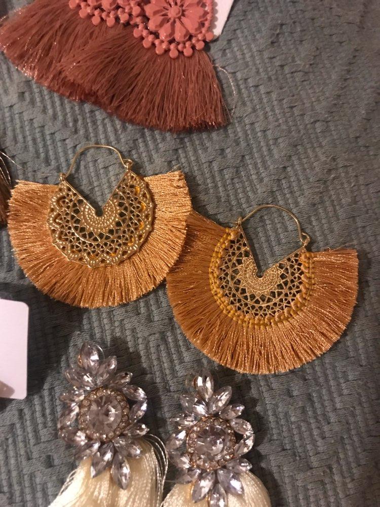 Boucles d'oreilles Coral photo review