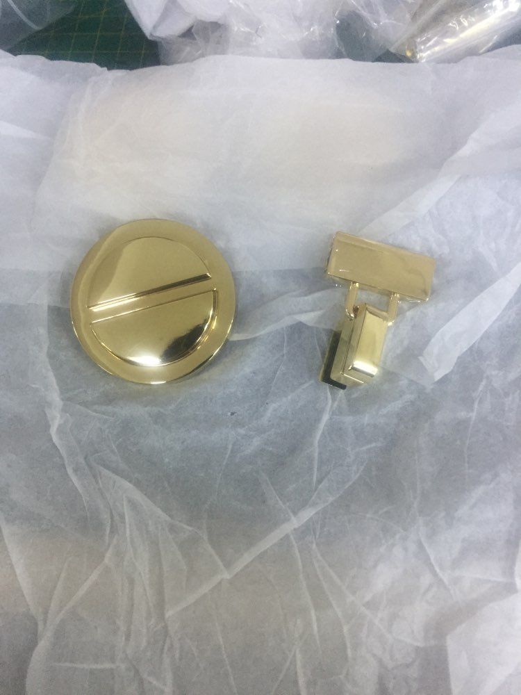 (10pcs/1lot) Diy high-grade alloy luggage bag round plug lock hardware accessories photo review