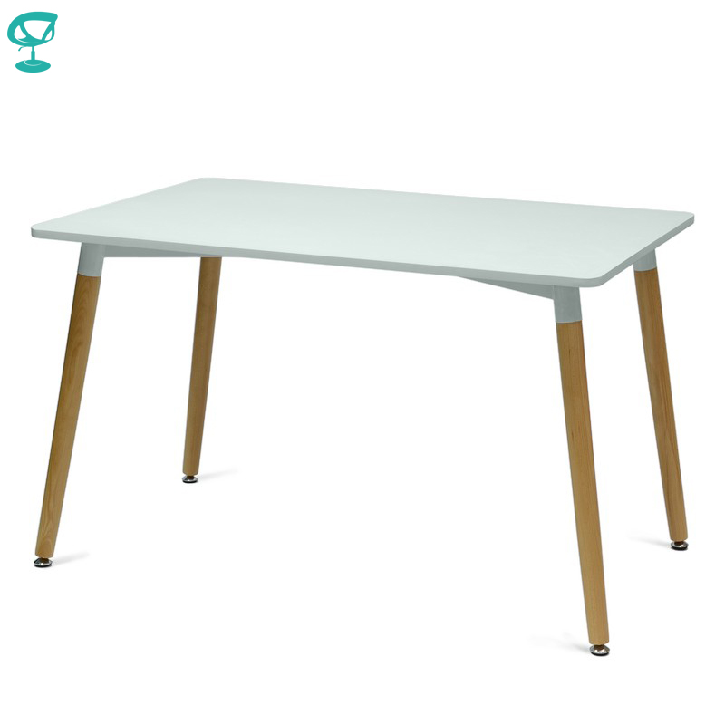 94925 Barneo T-10 MDF Interior Dinner Table Bar Table Kitchen Furniture Dining Table White Free Shipping In Russia
