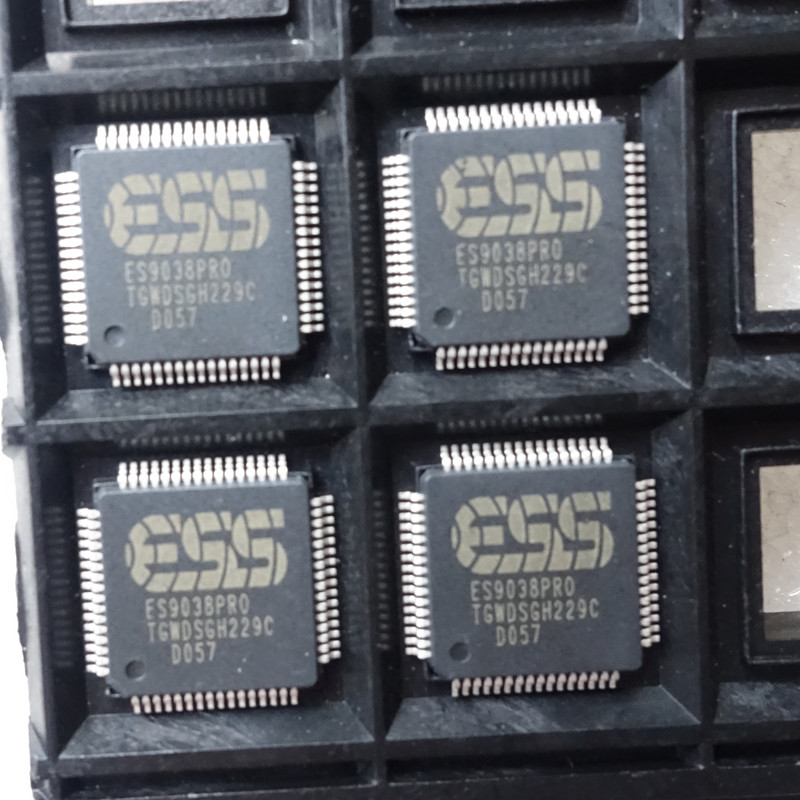 ES9038pro es9038 9038 decoder chip 1pcs es9038pro es9038 9038 decoder dac chip 1pcs 100% original authentic free shipping