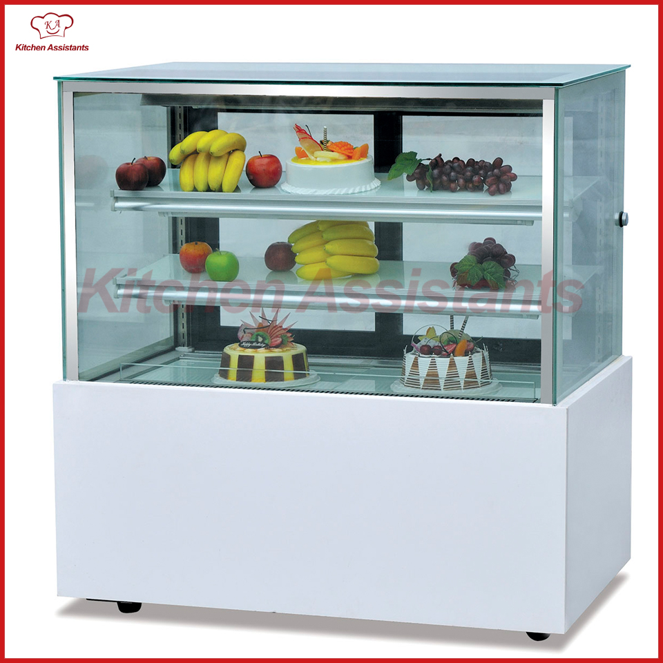 CL1800 Counter Top Japonic three layers right angle cake display cooler