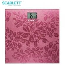 Весы напольные Scarlett SC-217