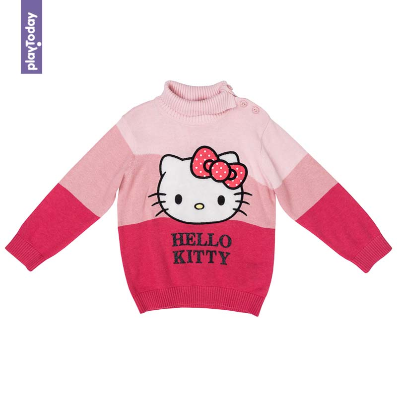 Sweaters PLAYTODAY for girls 578001 Children clothes kids clothes rainbow projector led night light for kids children