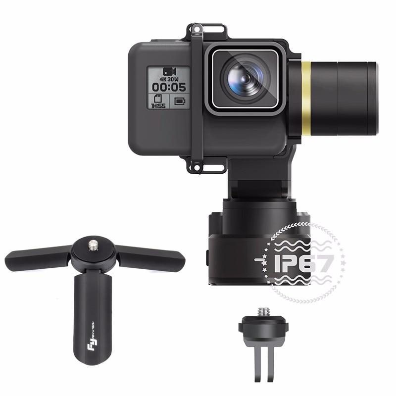 Feiyu WG2 3-Axis Waterproof handheld Camera gimbal Stablizer Mini Tripod For GoPro Hero5 4 Session MINI Camera camara gopro