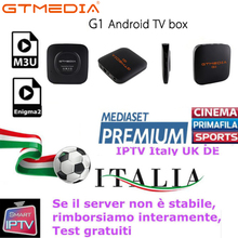 IPTV Europe SFRSP French Hot XXX Albania GTMEDIA G1 Android 7.1  support 1-Year Smart TV M3U Sweden Arabic Italy