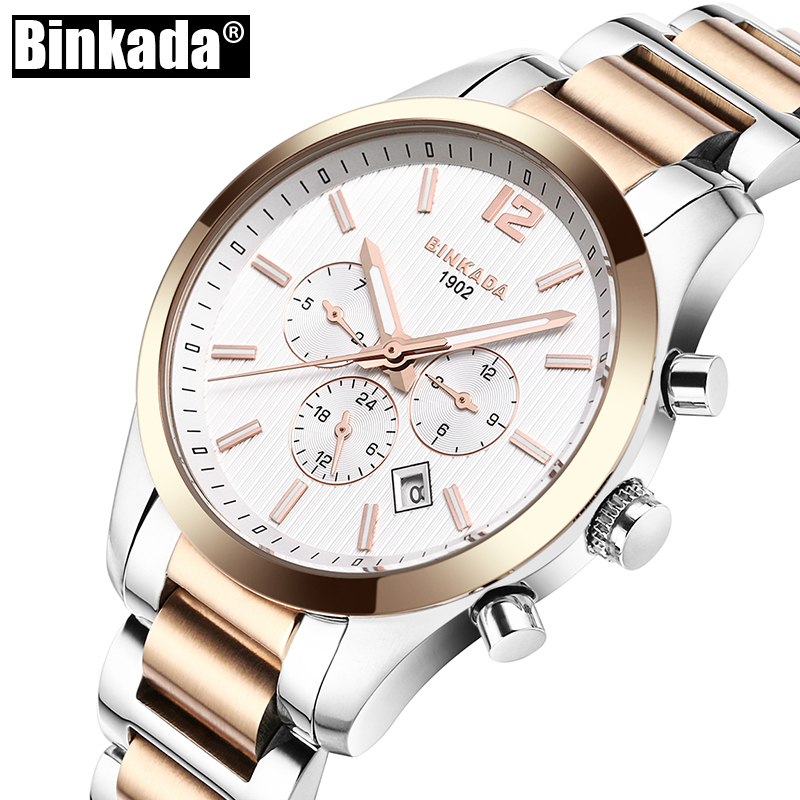 BINKADA Luxury Mens Watch Automatic Mechanical Watches Male Casual Business Wrist Watch New Clock Full Steel WaterproofBINKADA Luxury Mens Watch Automatic Mechanical Watches Male Casual Business Wrist Watch New Clock Full Steel Waterproof