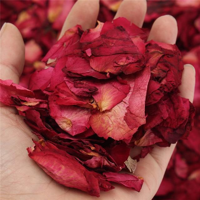 100g s ch es rose p tales naturel sec fleur parfum bain - Petale de rose bain ...