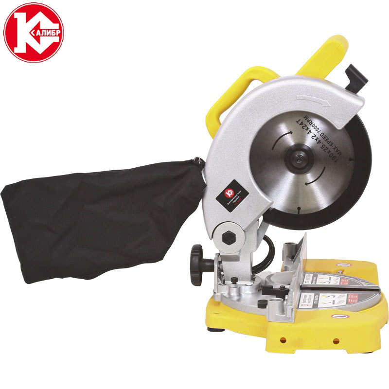 Kalibr PTE-900/190m Sliding Compound Miter Saw  Electric Circular Saw  Wood Machine
