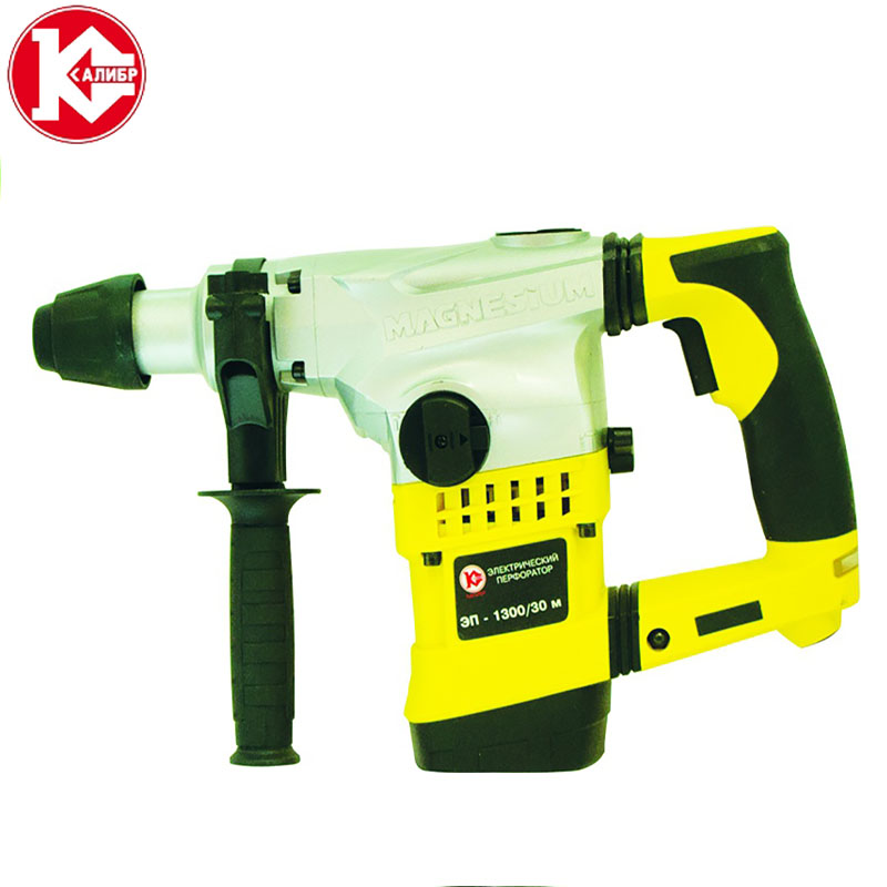 Kalibr EP-1300/30m Electric Rotary Hammer Accessories Impact Drill Power Drill kalibr demr 1050eru electric drill household impact drill multi function drill wall screwdriver gun light hammer powder tools