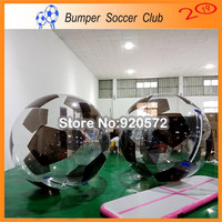 Free shipping 0.8mm PVC Hot Sale Inflatable Football Balls Water Ball Zorb Ball Price Walk On Water Ball For Sale