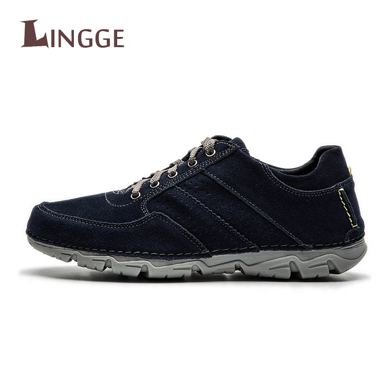 2018 Men Shoes High Quality Genuine Leather Luxury Brand Lace-Up Men Shoes Autumn Winter Work Shoes Fashion Casual Suede S 2017 autumn winter men shoes genuine leather casual lace up men s flats style comfortable dress work shoes big size 37 47