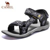 CAMEL Men's Sandals Summer New Lightweight Non slip Wear Men's Shoes Outdoor Beach Sandals Men Casual Shoes