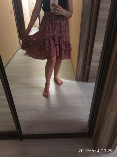 Asymmetrical High Waist Women Skirts Polka Dot Beach Female Summer Skirt Ruffles Midi Beach Casual Party Elegant Skirt photo review