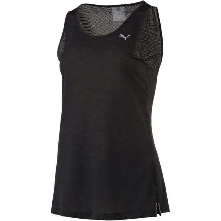 Фото - Available from 10.11 PUMA Running vest 51646501 active cut out elastic vest in navy