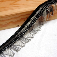 DIY lace 5CM iron chain tassel lace / lace / clothes plus long side / clothing accessories side