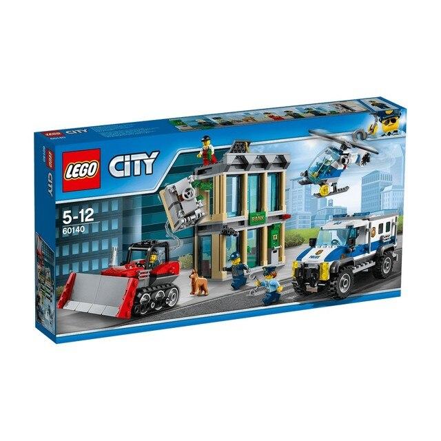 Конструктор LEGO CITY Ограбление на бульдозере 60140-L