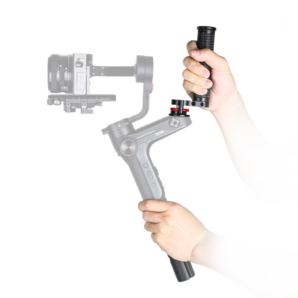 EACHSHOT WB-Grip hand grip with 1/4 Screw Holes Gimbal Accessories for Zhiyun Weebill LabEACHSHOT WB-Grip hand grip with 1/4 Screw Holes Gimbal Accessories for Zhiyun Weebill Lab