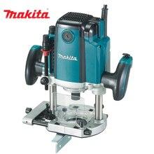 Фрезер электрический Makita RP1800F (Мощность 1850 Вт, ход фрезы 70 мм, 22000 об/мин, диаметр цанги - 12, подсветка)