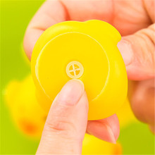 2015 sound yellow rubber ducks pinch the baby baby yellow duck toys(China)