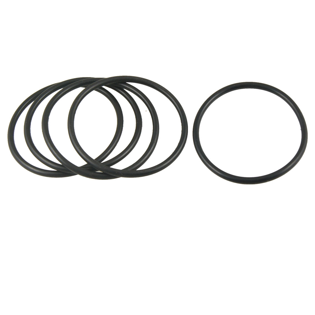 Uxcell 5 Pcs 3.5Mm T Rubber Sealing Oil Filter O Rings