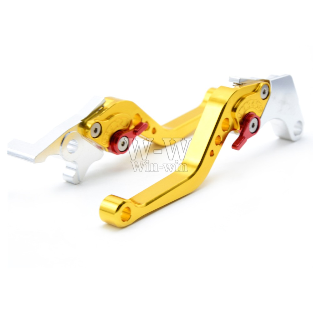 CNC Aluminum Motorcycle Motorbike Folding Adjustable Brake Clutch Levers For Honda GROM MSX125 MSX 125 2013 2014 2015 13 14 15 in Levers Ropes Cables from Automobiles Motorcycles