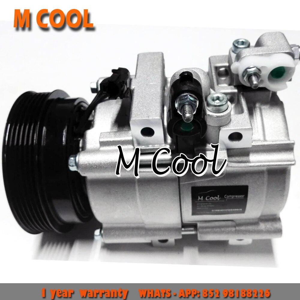 New AC Compressor For Hyundai Santa Fe /Kia Magentis 977013A680 977013A682 F500-AJWBB-07 F500-BBWBB-02 97701-3A670 97701-3A680New AC Compressor For Hyundai Santa Fe /Kia Magentis 977013A680 977013A682 F500-AJWBB-07 F500-BBWBB-02 97701-3A670 97701-3A680