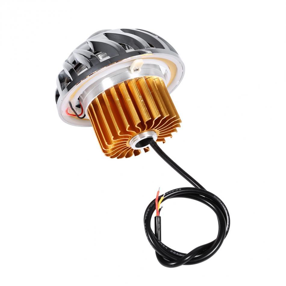 Motorcycle LED Headlight For Motorcycle Angel Eyes Devil Eye light motorbike head lamp Motorcycle Accessories