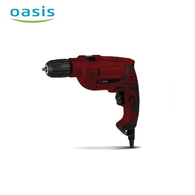 Electric drill Oasis DE-55 Multi Purpose Corded Electric Power High Power Double Quick clamping patron Drilling holes electric hammer drill oasis pr 100 hole punching rotary tool drilling holes multifunctional hammer dual purpose