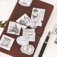 45Pcs/lot Retro Modern life Mini Paper Sticker Decoration DIY Ablum Diary Scrapbooking Label Kawaii Stationery