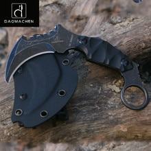 OutdoorTactical Karambit Knife Camping Survival Hunting Claw Knives Multi Purpose Tools D2 Blade Huntsman Knive