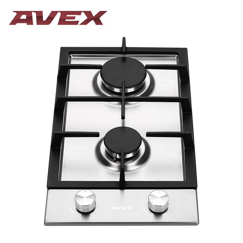 Built in Hob gas on stainless steel AVEX HS 3022 X Cooktop Cooker stainless steel home security door stop alarm 3 x lr44