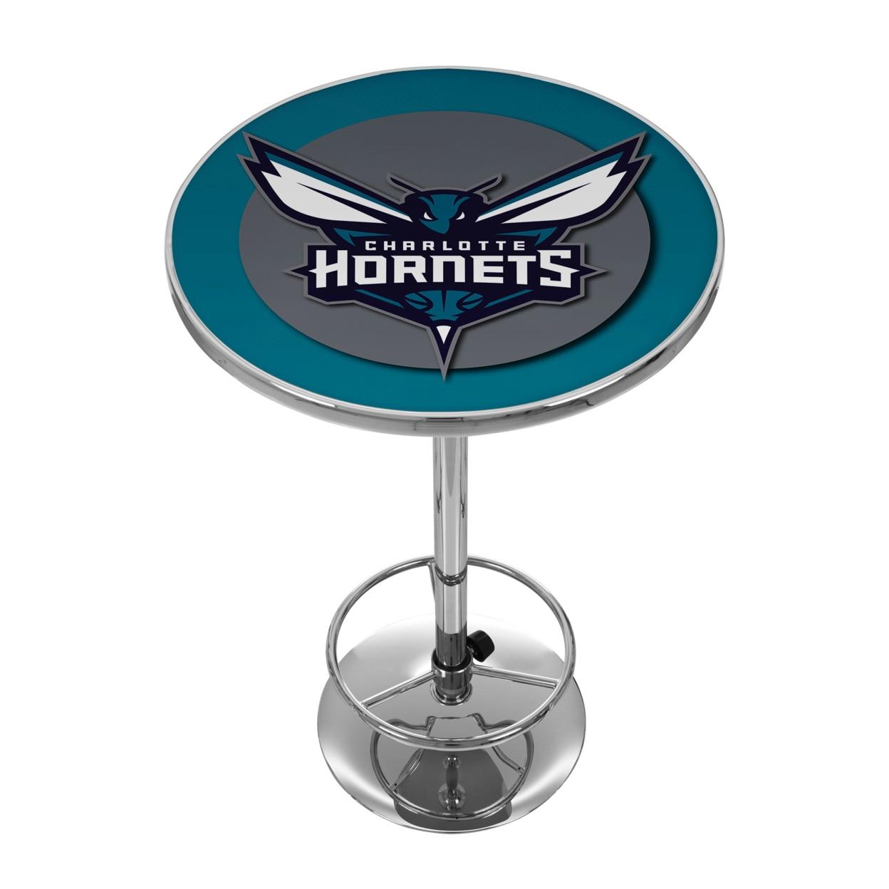 Charlotte Hornets NBA Chrome 42 Inch Pub Table термокружка charlotte