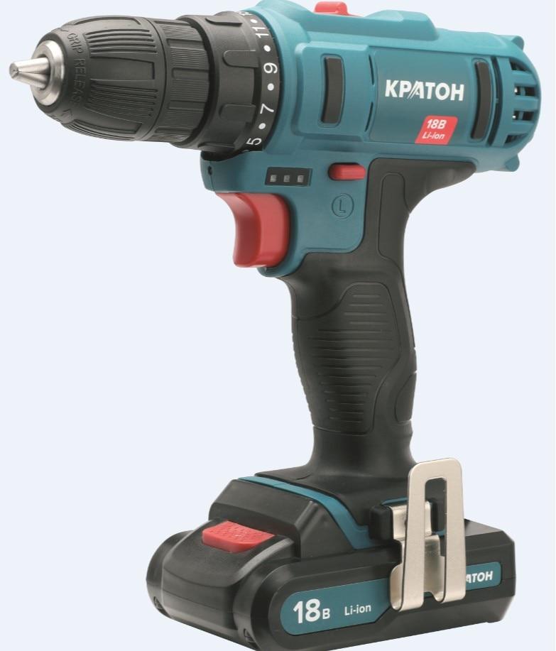 Drill-screwdriver rechargeable KRATON CDB-18-Li-1,5 drill screwdriver rechargeable kraton cdl 10 1 h