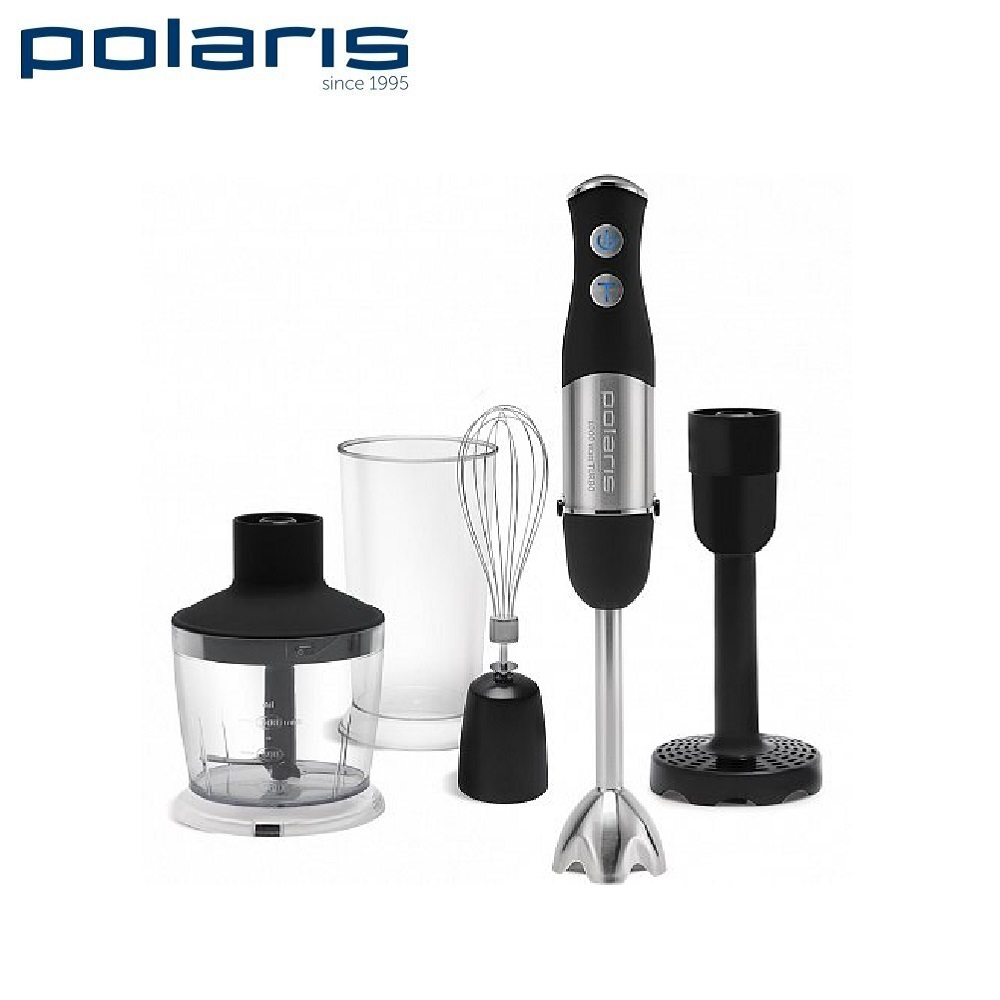 Blender submersible Polaris PHB 1066AL Black Blender smoothies kitchen Juicer Portable blender kitchen Cocktail shaker Chopper Electric Mini blender blender xp