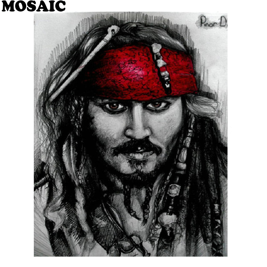 diy diamond painting cross stitchPirates of the Caribbean painting by numbersembroidery 5d square diamond mosaic pictures