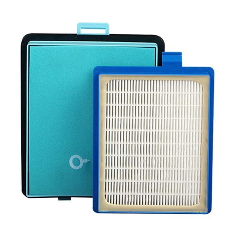 1x Exhaust Vents Filter +1x Intake Vents HEPA Filter Replacement For Philips FC8766 FC8767 FC8760 FC8764 Vacuum Cleaner Parts